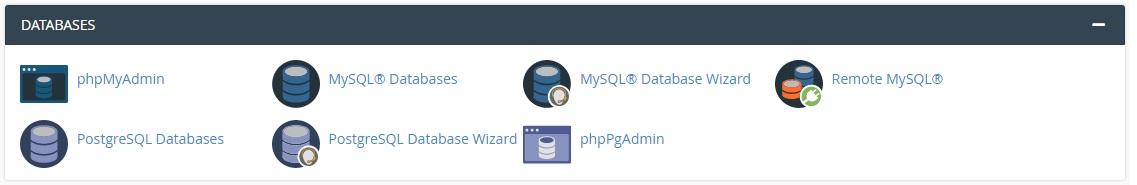 Бази данни в cPanel